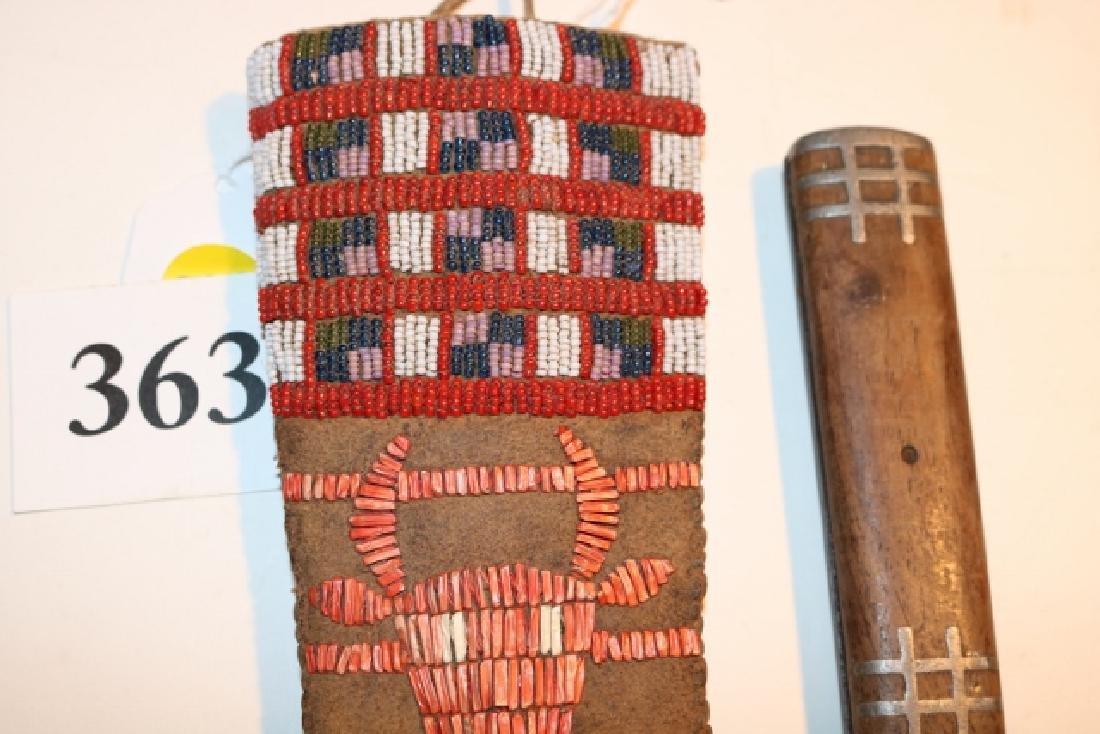Plains Indian Beaded Sheath - 2