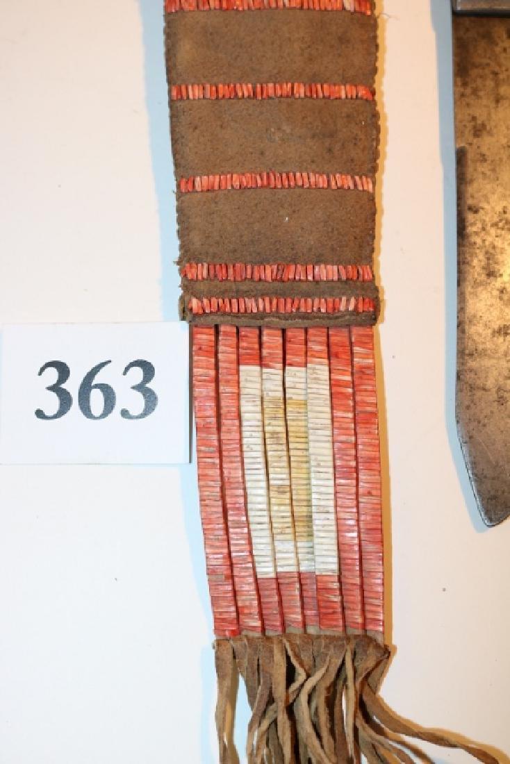 Plains Indian Beaded Sheath - 4