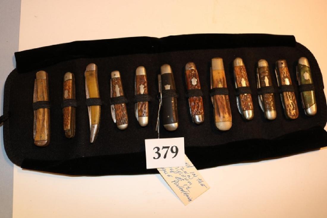 Group of (12) Antique Pocket Knives