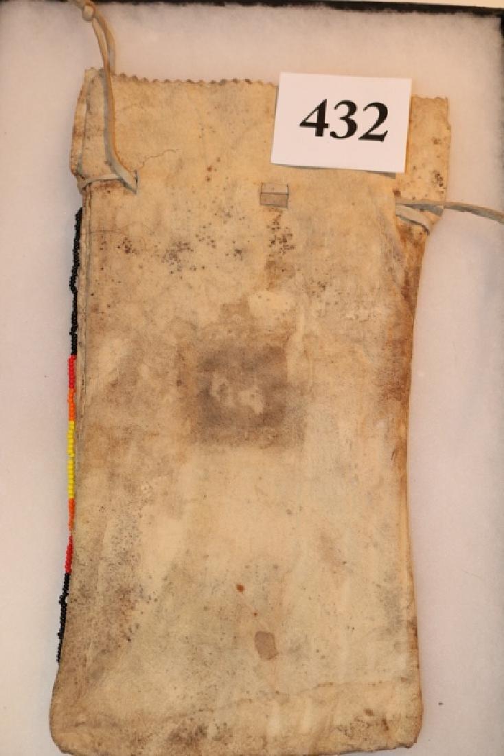 Beaded Drawstring Bag - 2