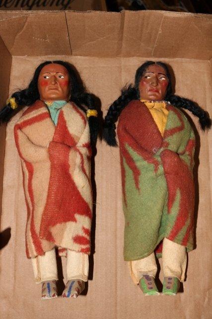 2 Skookum Dolls