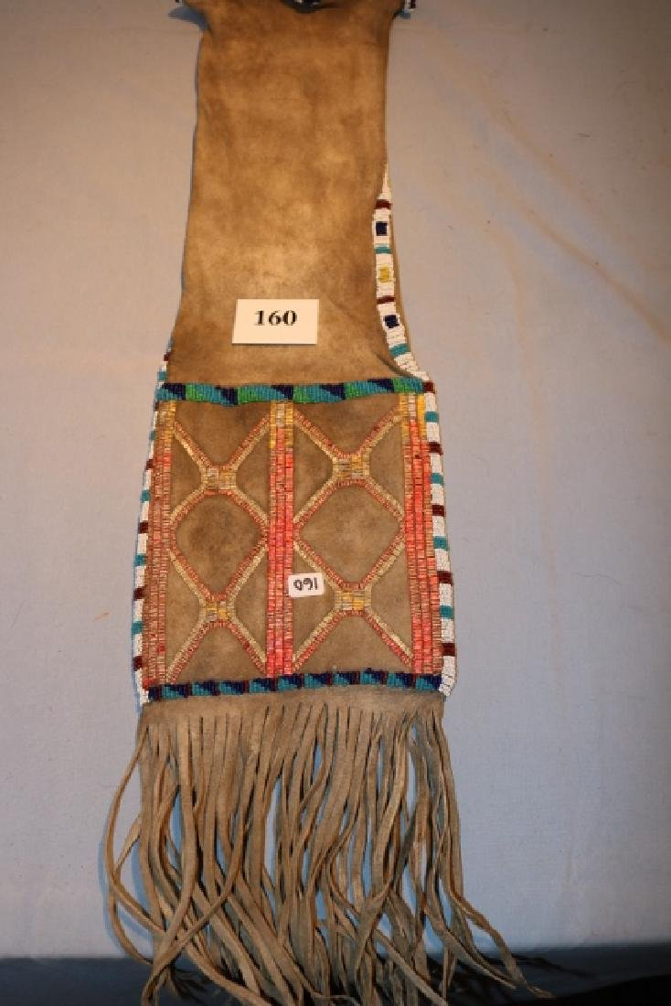 Beaded and Quilled Pipe Bag