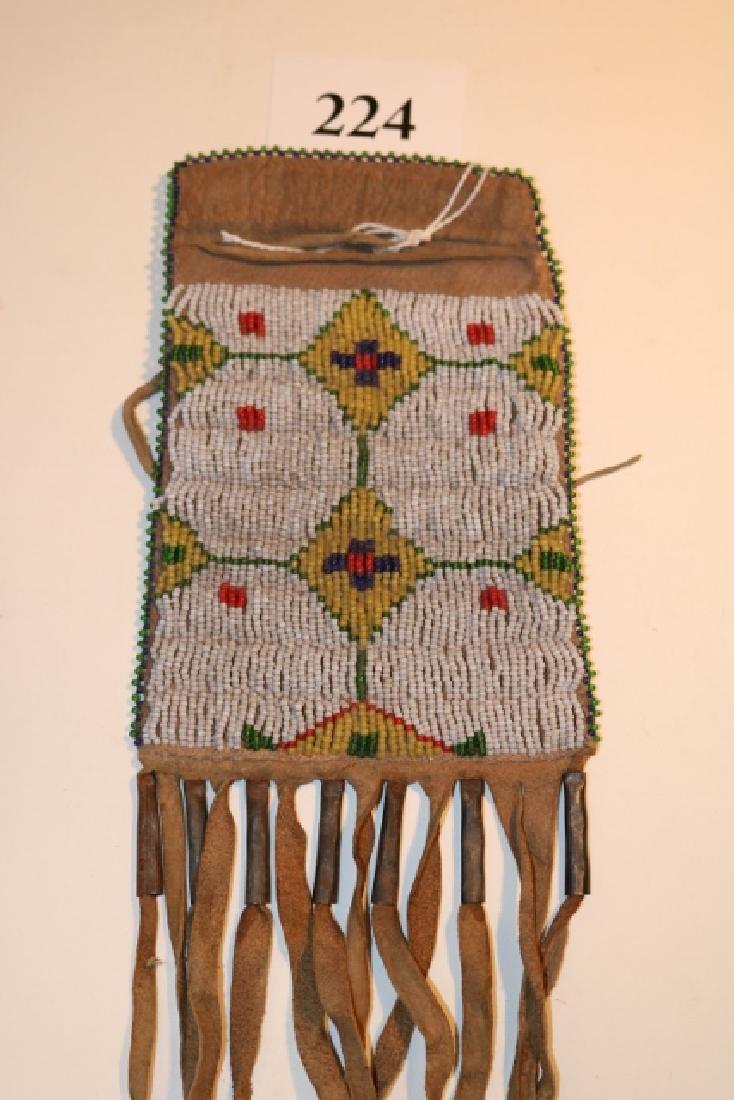 Beaded Drawstring Bag
