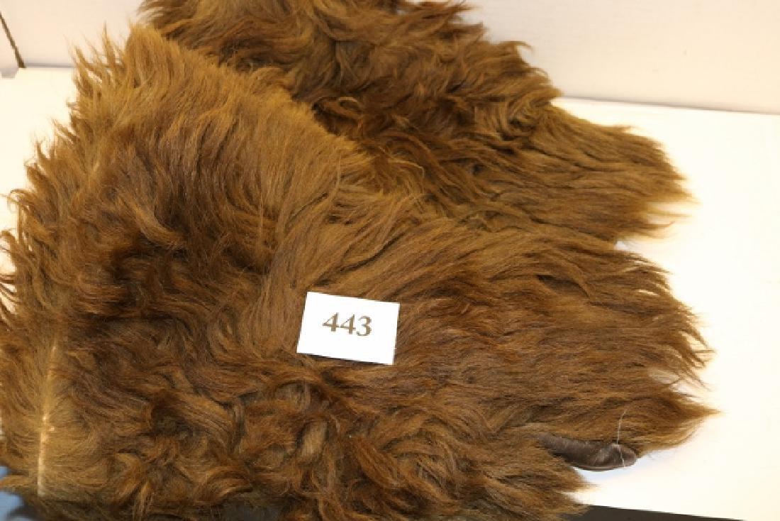 Pair Bear Hide Gloves - 2