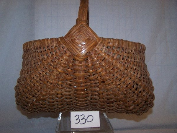 "330: 12"" x 14"" x 13"" Buttox Basket"