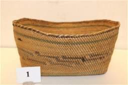 Polychrome Makah Basket