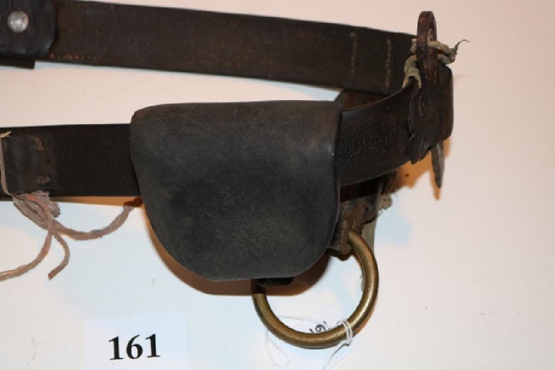 "43 1/2"" Belt with Leather Pouch - 3"