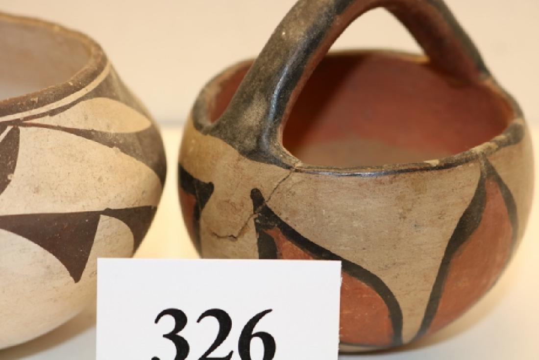 3 Pottery Bowls - 2