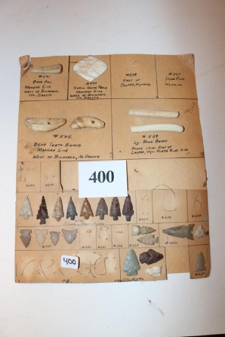 6 Shell Bone items:  19 bird points