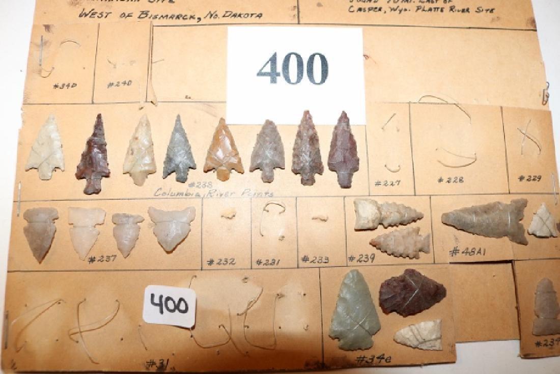 6 Shell Bone items:  19 bird points - 2