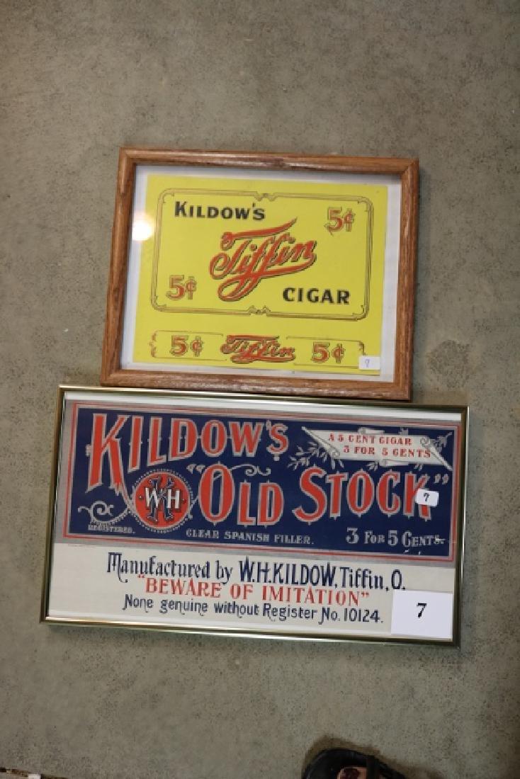 Kiltows Old Stock Cigars & Kildows Tiffin Cigars