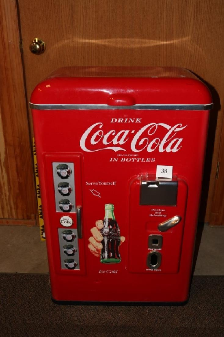 Coca Cola Cooler plastic - WILL NOT SHIP