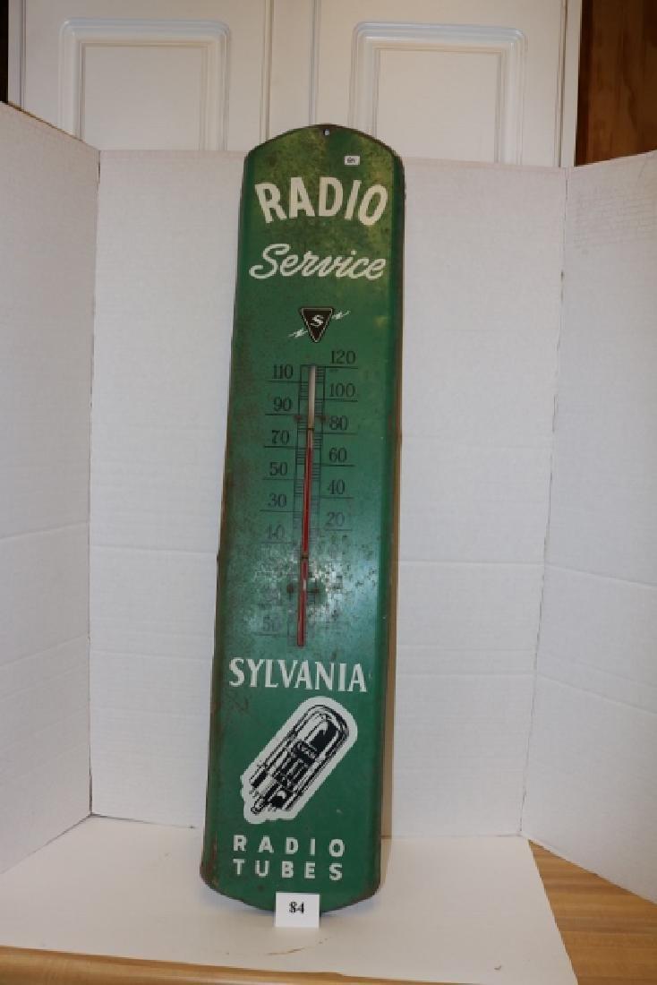 Sylvania Radio Service Therm.