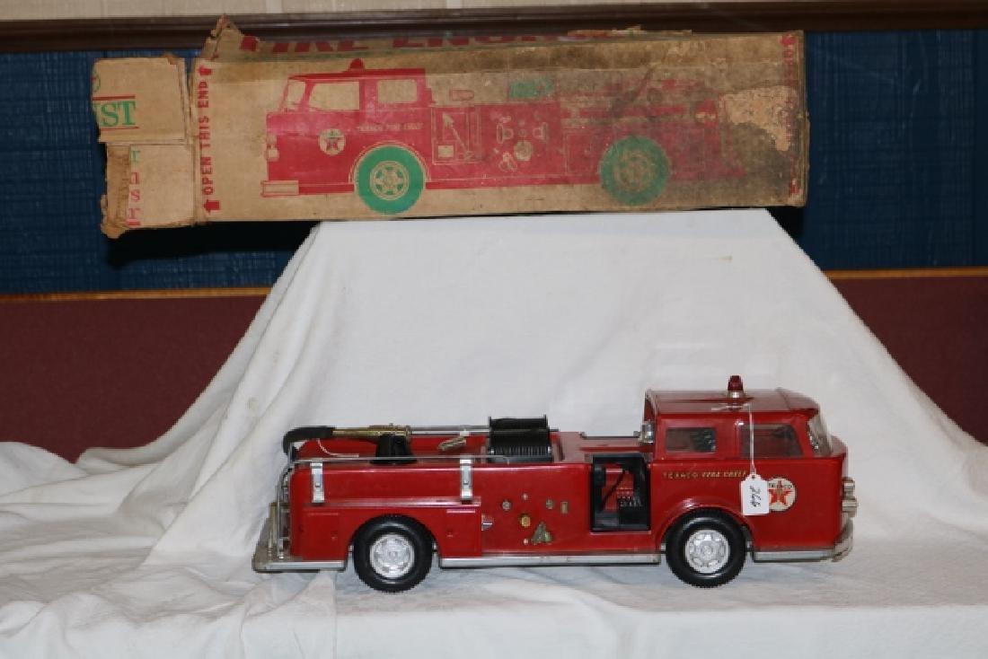 Steel Texaco Fire Pumper