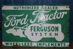 Ford Tractor Ferguson System Dealer Sign WILL NOT SHIP
