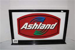 2 Sided Ashland Oil Pump Sign