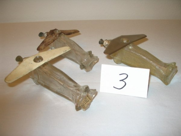 "3: (3pcs)Airplane - ""Patent 113053"" -"