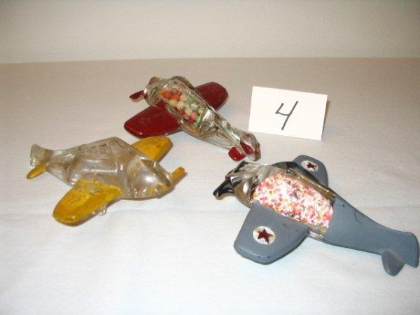 "4: (3pcs)Airplane - ""US P-51"""