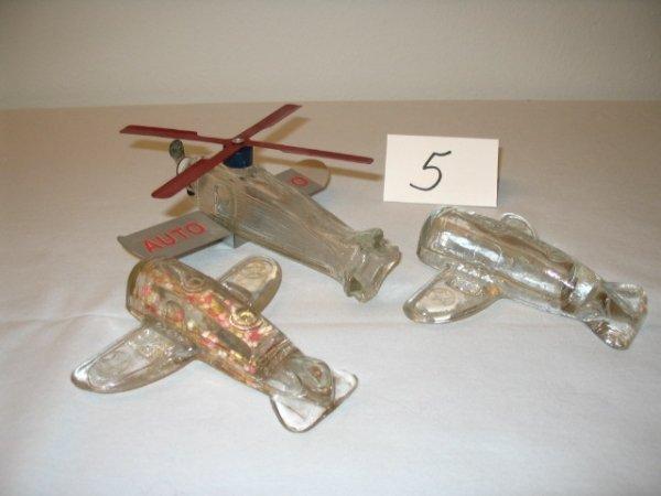 "5: (3pcs)Airplane - ""Army Bomber 15-P-"