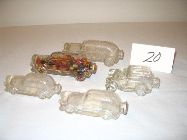 "20: (5pcs)Automobile - ""Little Sedan"""