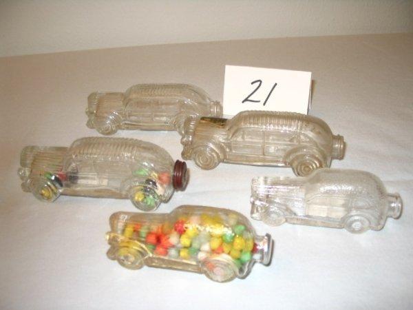 "21: (5pcs)Automobile - ""Stream Lined"