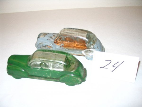 "24: (2pcs)Automobile - ""Streamlined"" -"