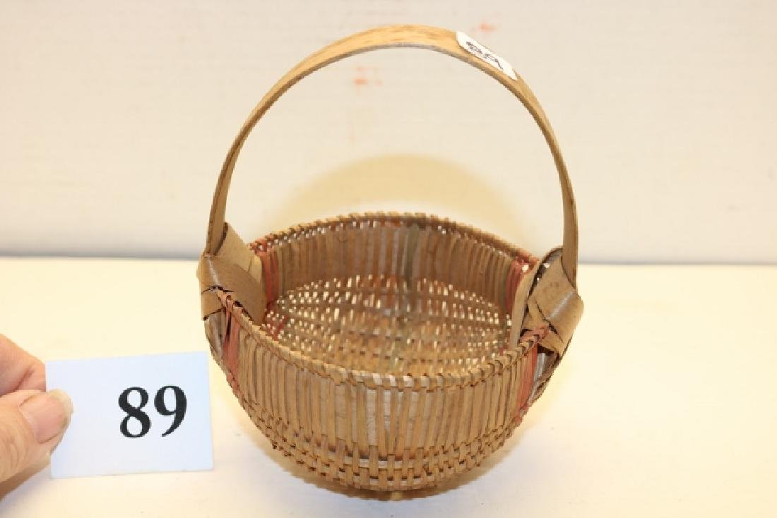 Handled New England Buttox Basket
