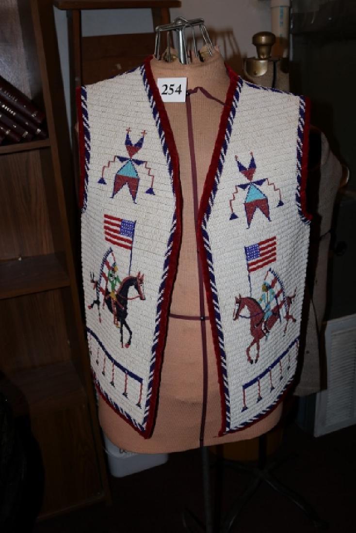 Sioux Large Pictorial Man's Vest