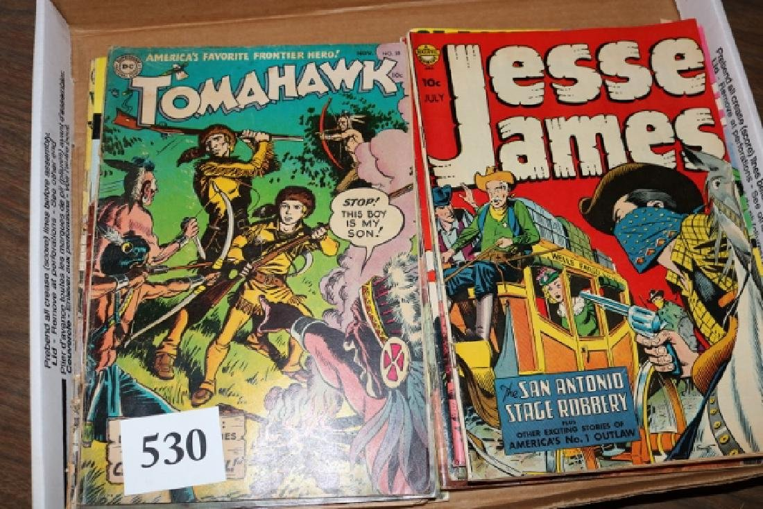 13 Comic Books on West and Indians
