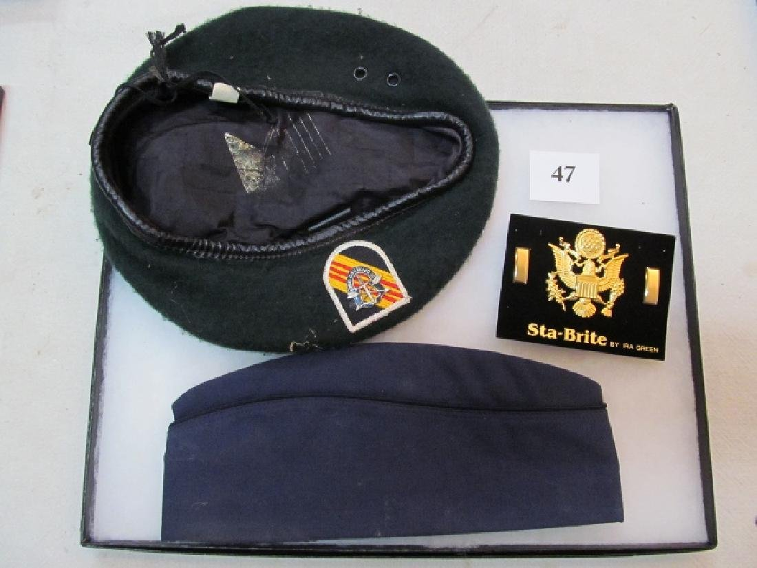 Job Lot: Garrison Air Force Blue Cap