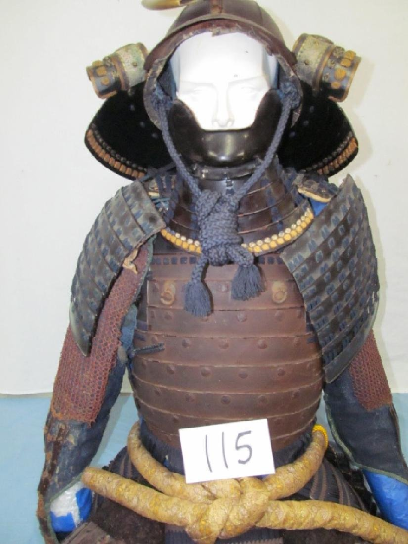 Late 1800's to Early 1900's Samurai Suit
