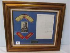 Signed Document of Karl Gerd Von Rundstedt
