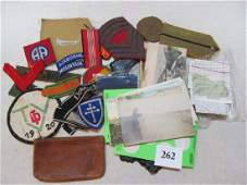 Job Lot WWI  WWII Patches