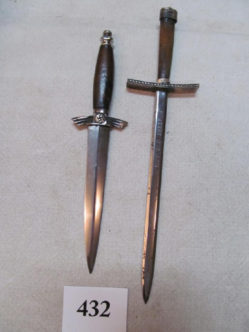 Rare WWII German Miniature Daggers