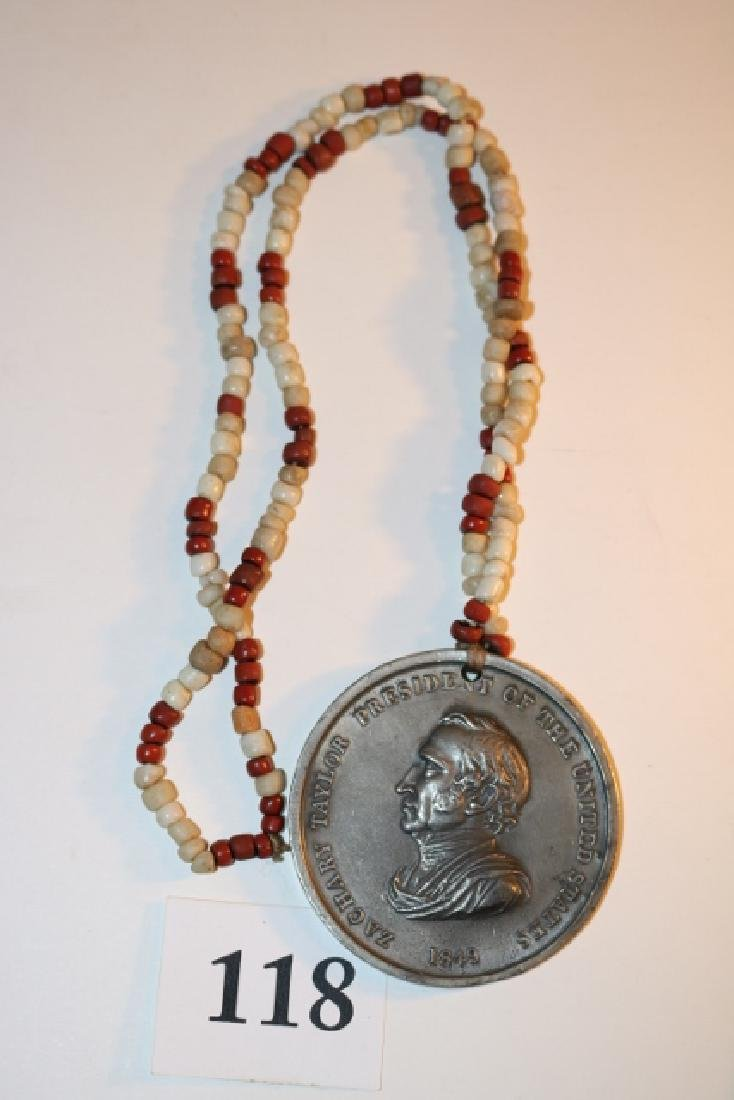 1849 Silver Zachary Taylor Peace Medal - 2