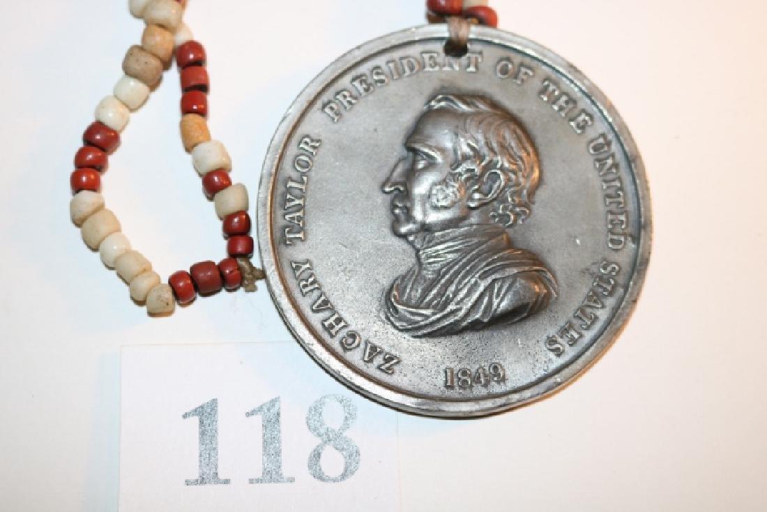 1849 Silver Zachary Taylor Peace Medal - 3