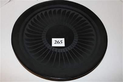 Black on Black San Idelfonso Plate by Marie & Santana