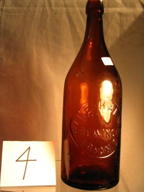 4: Amber Beer Bottle