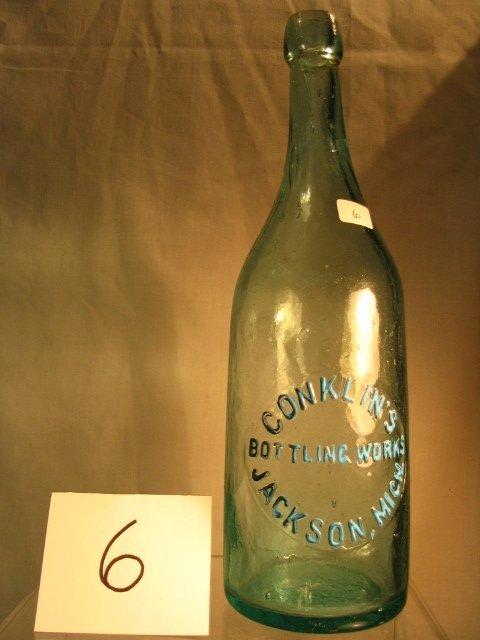 6: Aqua Beer Bottle