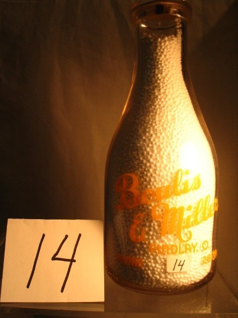 14: Boulis & Miller Milk Bottle