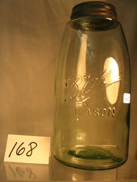 168: Ball Mason Fruit Jar
