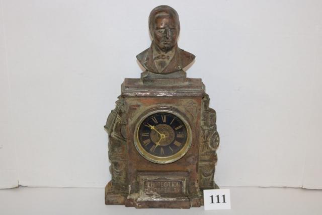 McKinley Cast Iron Wind Up Clock