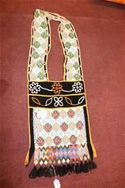 Beaded Bandolier Bag