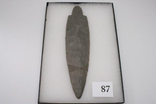 87: Hornstone Adena Spearpoint