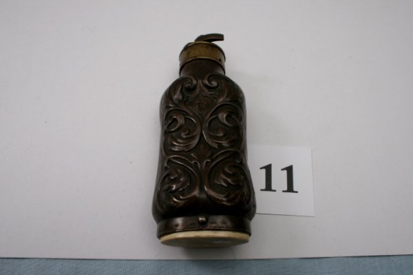 11: Brass Powder Flask