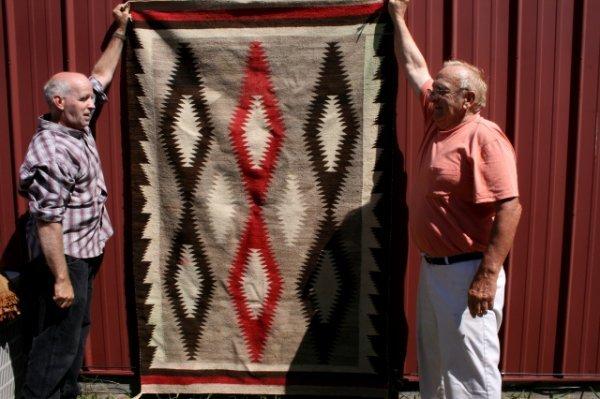 24: Navajo Rug