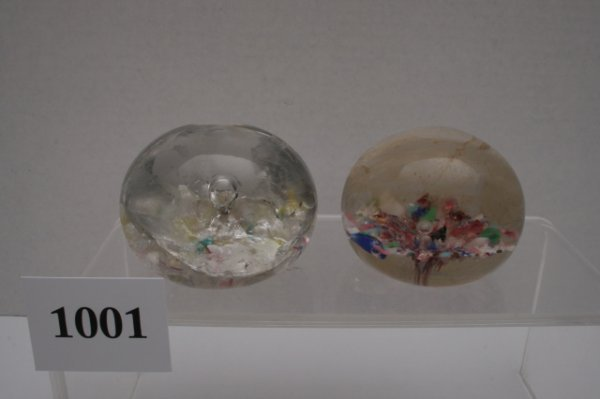 1001: 2 Paperweights