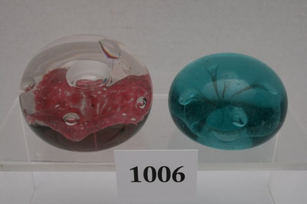 1006: 2 Paperweights