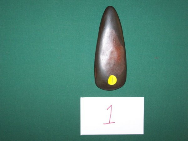 1: Hematite Celt