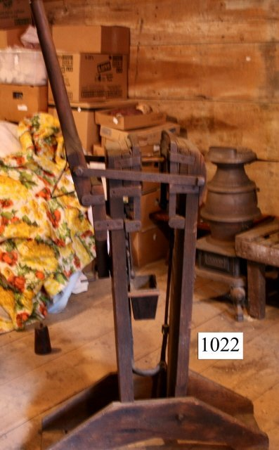 1022: Rare Broom Makers Vise